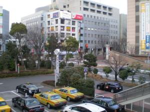東戸塚駅ロータリー