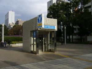 横浜市営地下鉄 伊勢佐木長者町駅