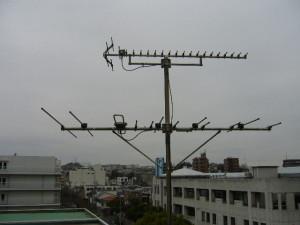 アンテナ工事施工前